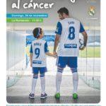ZARAGOZA REAL MADRID Unidos contra el Cancer Infantil ASPANOA CARTEL