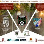CD ESTEPONA Torneo Solidario Navidad Ciudad de la Alhambra DIC 2019 CARTEL