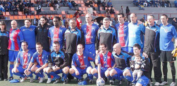 equipo levante ud veteranos blaugrana estadio