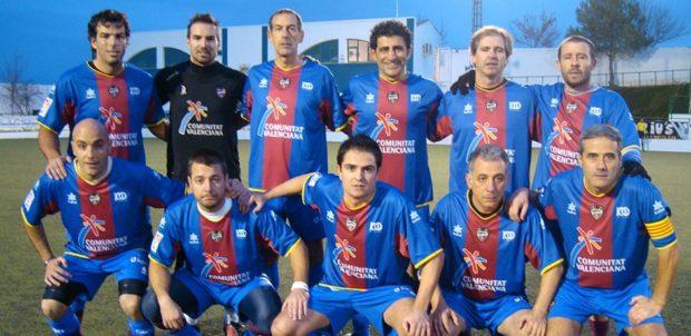 equipo levante ud veteranos blaugrana partido