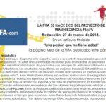 FIFA Reminiscencia efecto terapéutico