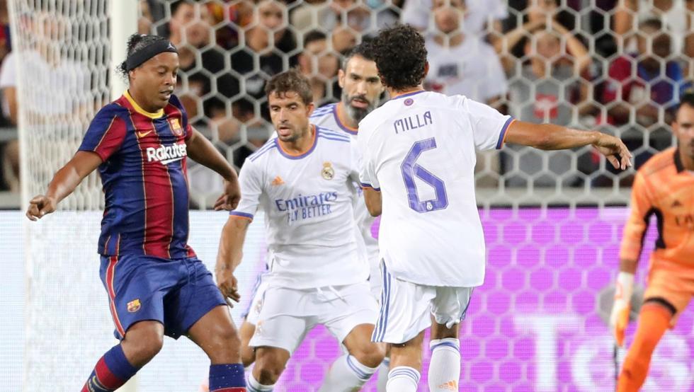 CLASICO Leyendas Real Madrid FC Barcelona Legends