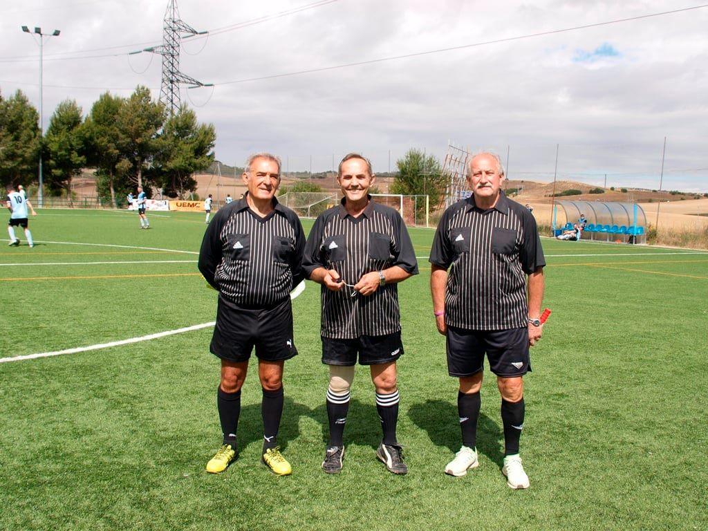 Veteranos Real Valladolid Rubio Valdivieso Arbitro