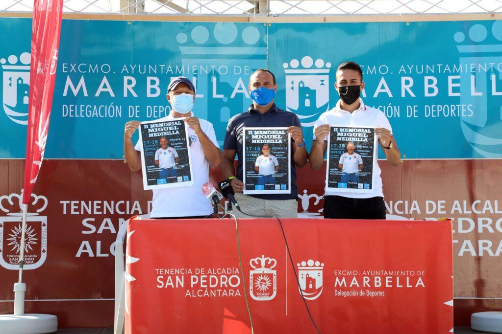 Veteranos CD Estepona Memorial Miguel Medinilla Marbella