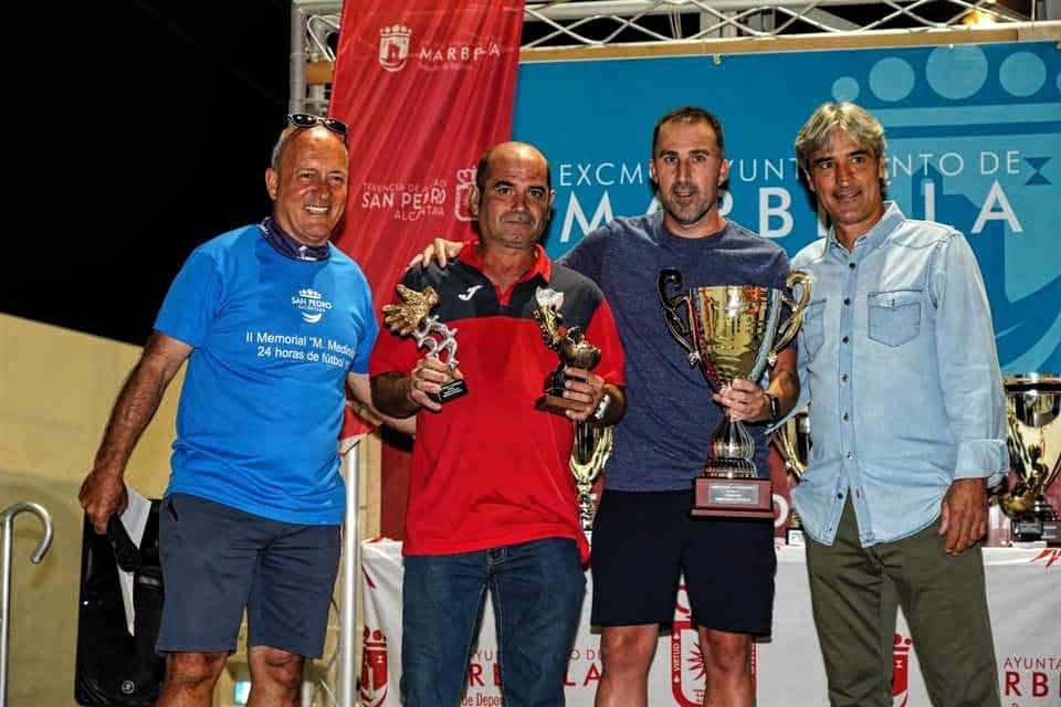 Trofeos Veteranos CD Estepona Memorial Miguel Medinilla Marbella