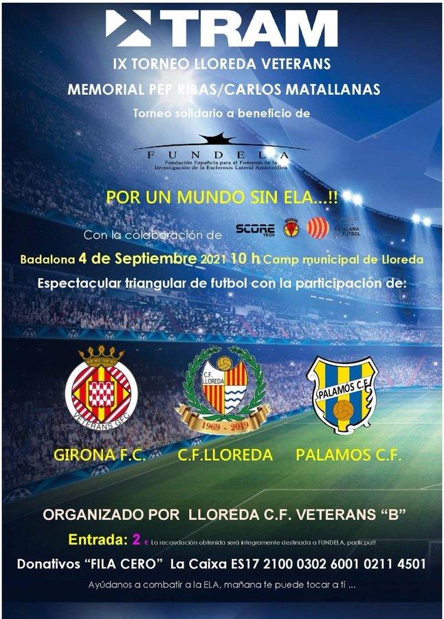 mundo sin ELA Veteranos Girona FC