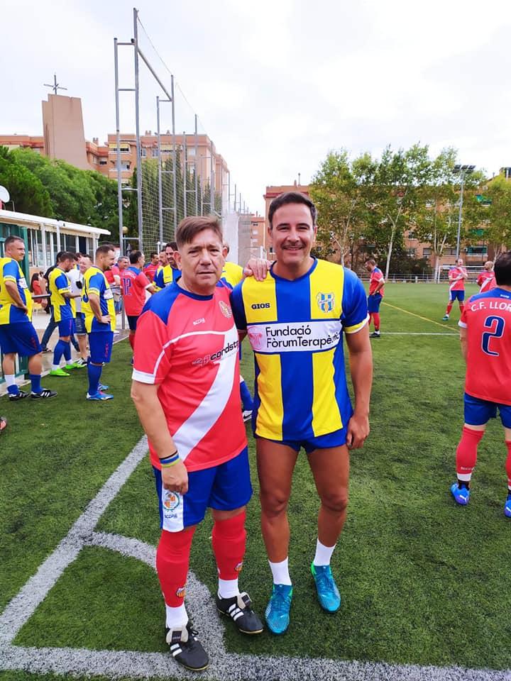 mundo sin ELA Veteranos Girona FC Pedro Nieto