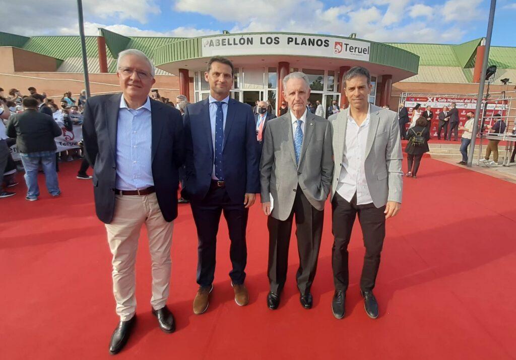 FEAFV premio Valores Deportivos en la XL Gala Nacional del Deporte AEPD
