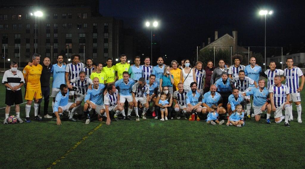 Equipo Veteranos REAL VALLADOLID Homenaje Angel Velasco Club Deportivo Arces