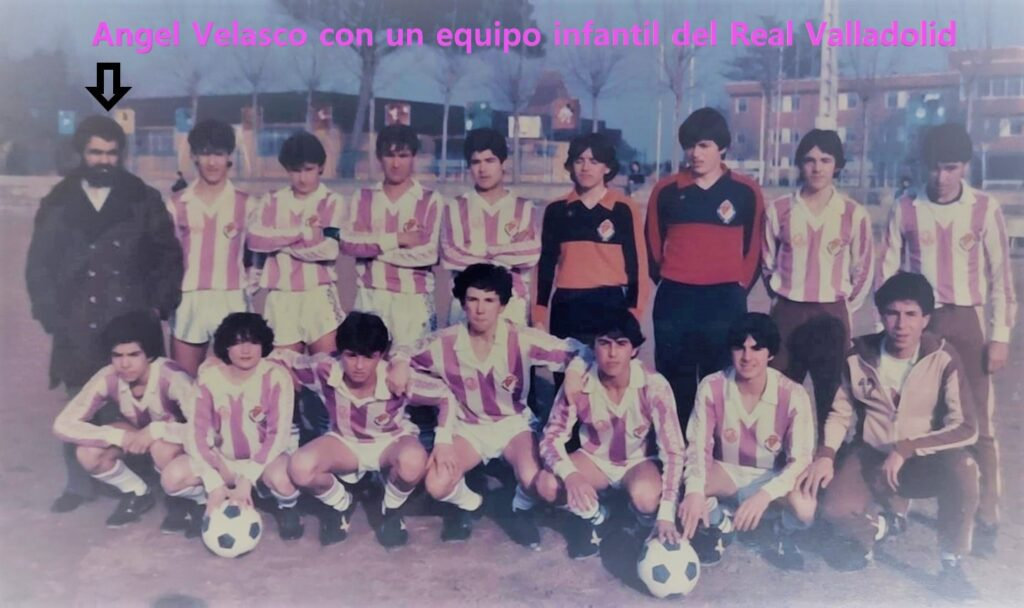 Entrenador infantil REAL VALLADOLID Homenaje Angel Velasco Club Deportivo Arces