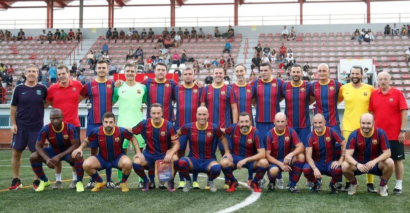 ExJugador FC Barcelona Centenario Ripollet