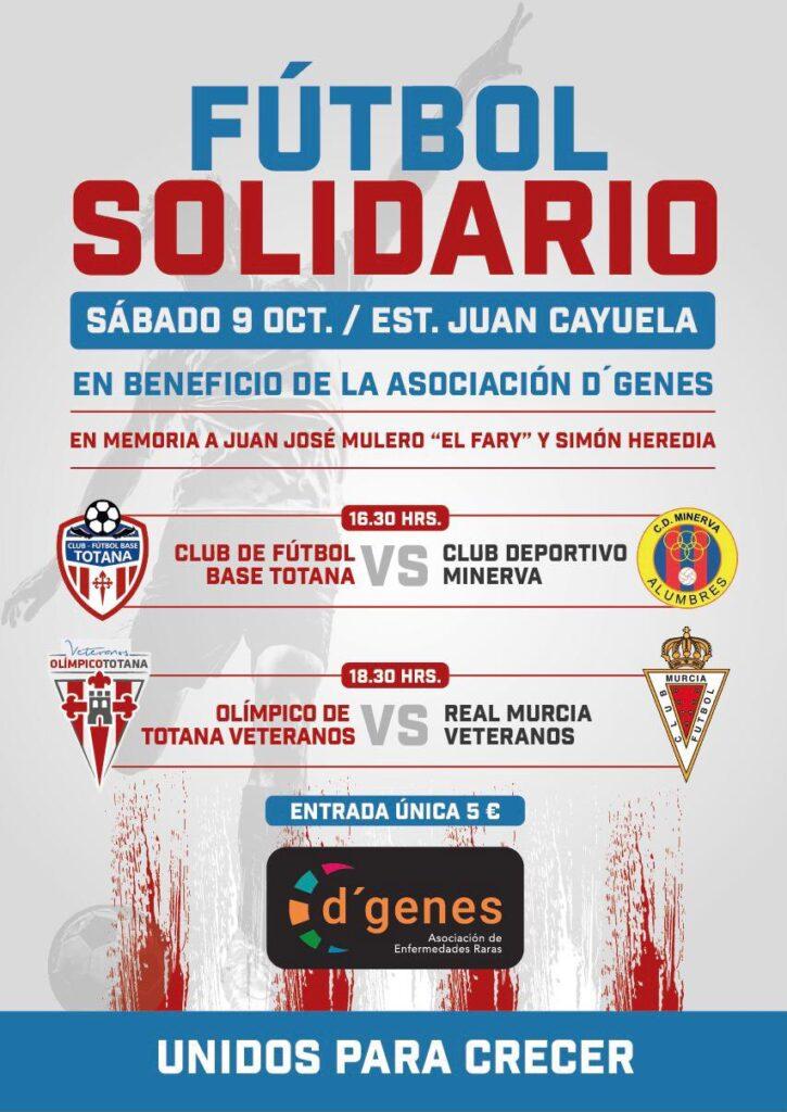 Torneo Benefico D'Genes Totana Veteranos Real Murcia